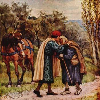 Fransiskus bertemu penderita kusta