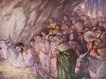 Perayaan Natal di Greccio