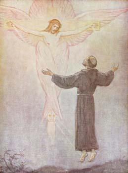 Fransiskus menerima stigmata