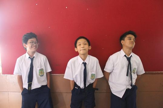 George, Jordan, dan Gery