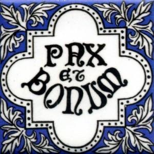 Pax et Bonum = Damai dan Kebaikan