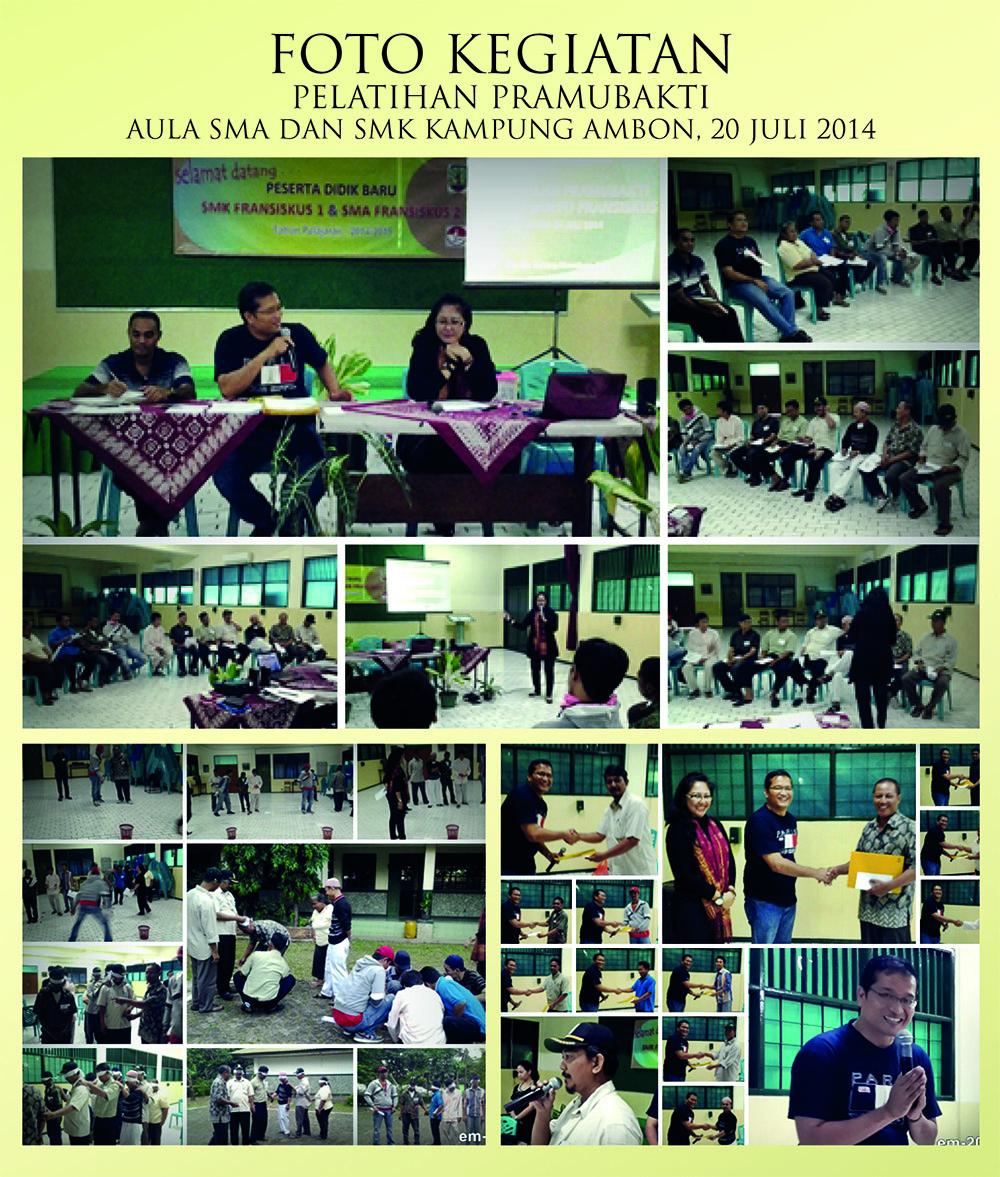 Pelatihan Pramubakti 20 Juli 2014